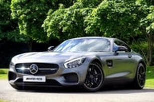 Photo of AMG Mercedes roadster possibly purchased from the proceeds of a mortgage refinance